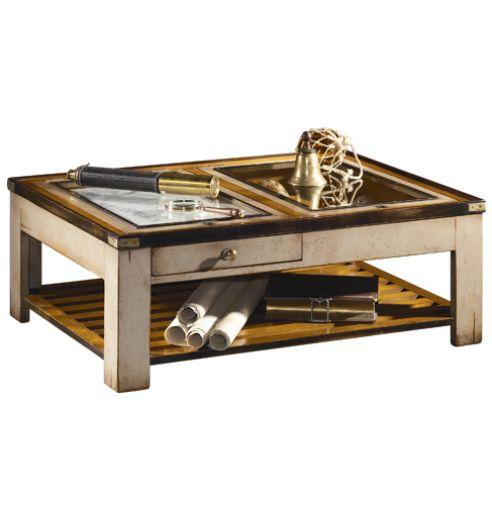 Table De Roof Marine Table Tablebasse Salon Verre