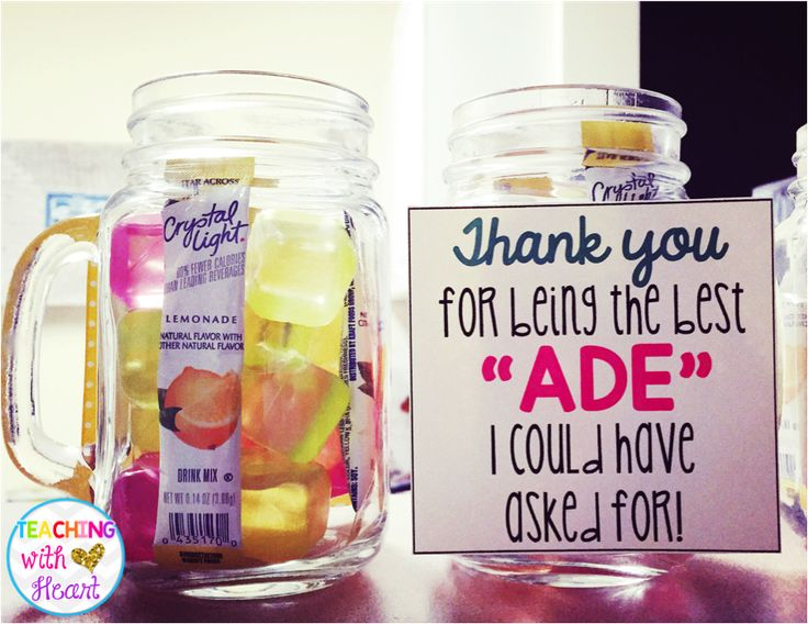 Don't forget to celebrate your classroom aides/paraprofessionals during Teacher Appreciation Week! Grab these FREE tags now, and find out how to make a simply, inexpensive gift to go with them!