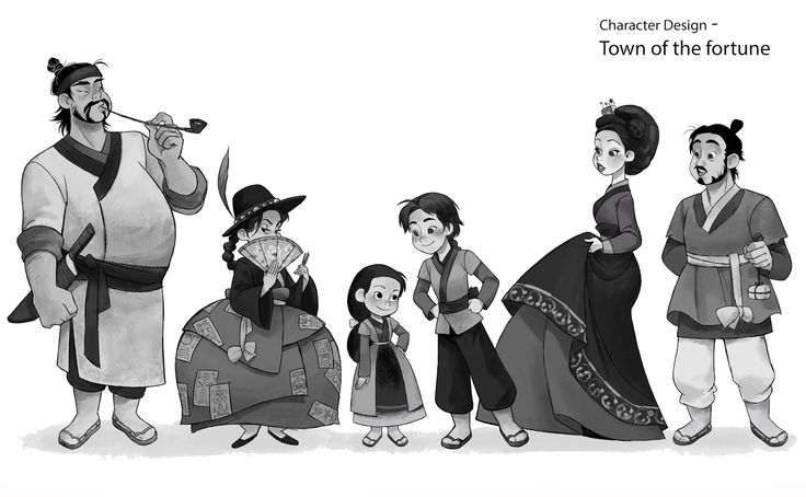 Animation Character Design Portfolio : Mirae works chracter design portfolio by mirae yi