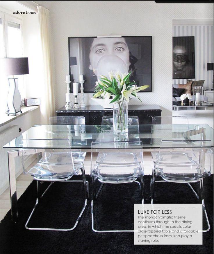 Best + Ikea dining table ideas on Pinterest  Kitchen chairs
