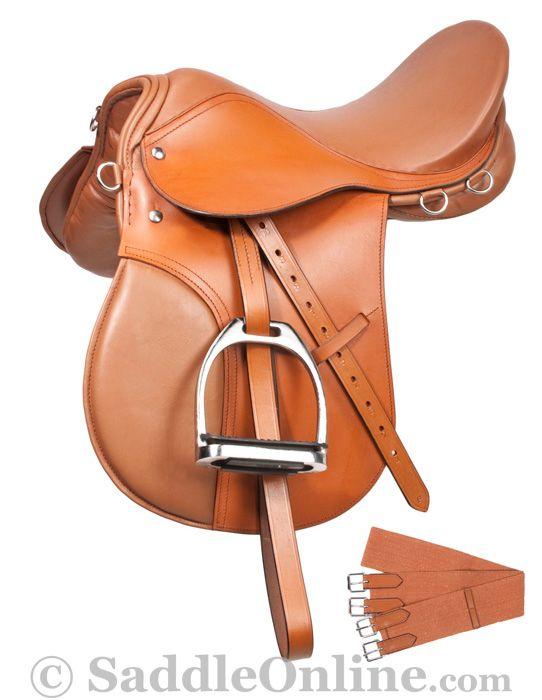 Sale Clearance English All Purpose Tan Saddle Set 16 18- Western Horse Saddles - Saddle Online