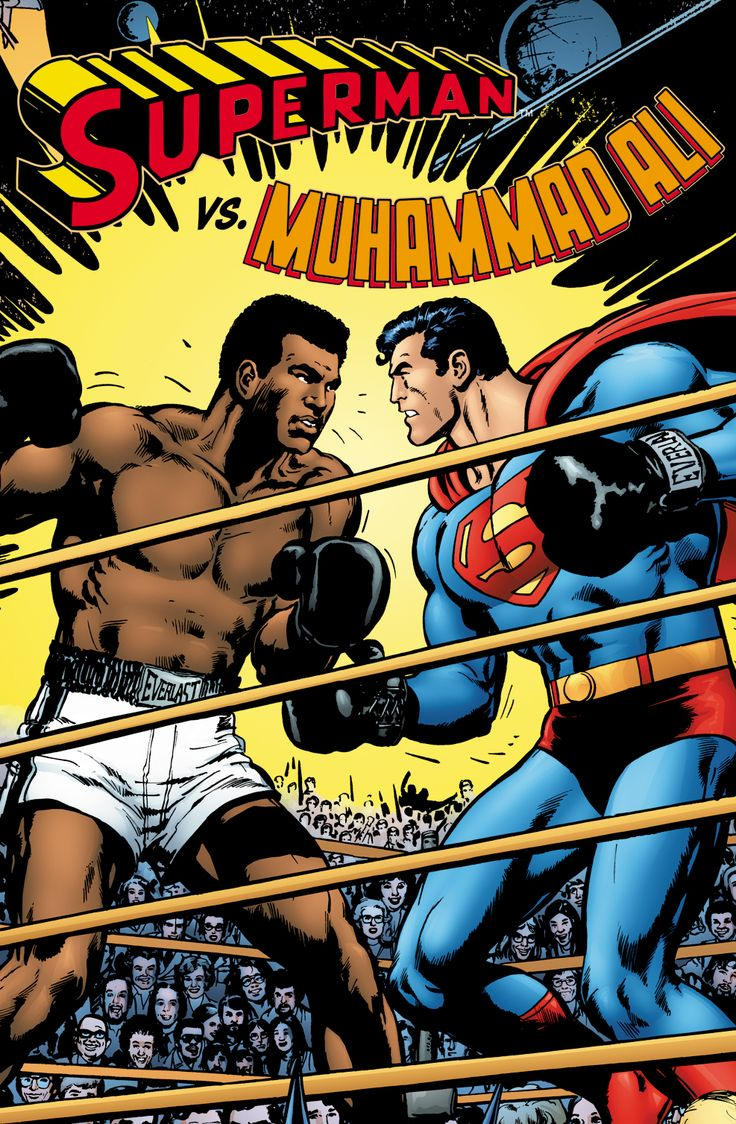 mohammed ali pictures | Review: Superman vs. Muhammad Ali e DC Made In Brazil