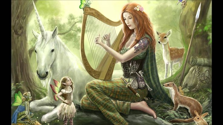 The best Relaxing music |  Fantasy Harp music | Calm music - YouTube