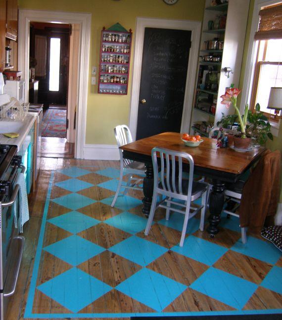 Checkered Kitchen Floor: 62 Best Checkerboard Floors Images On Pinterest