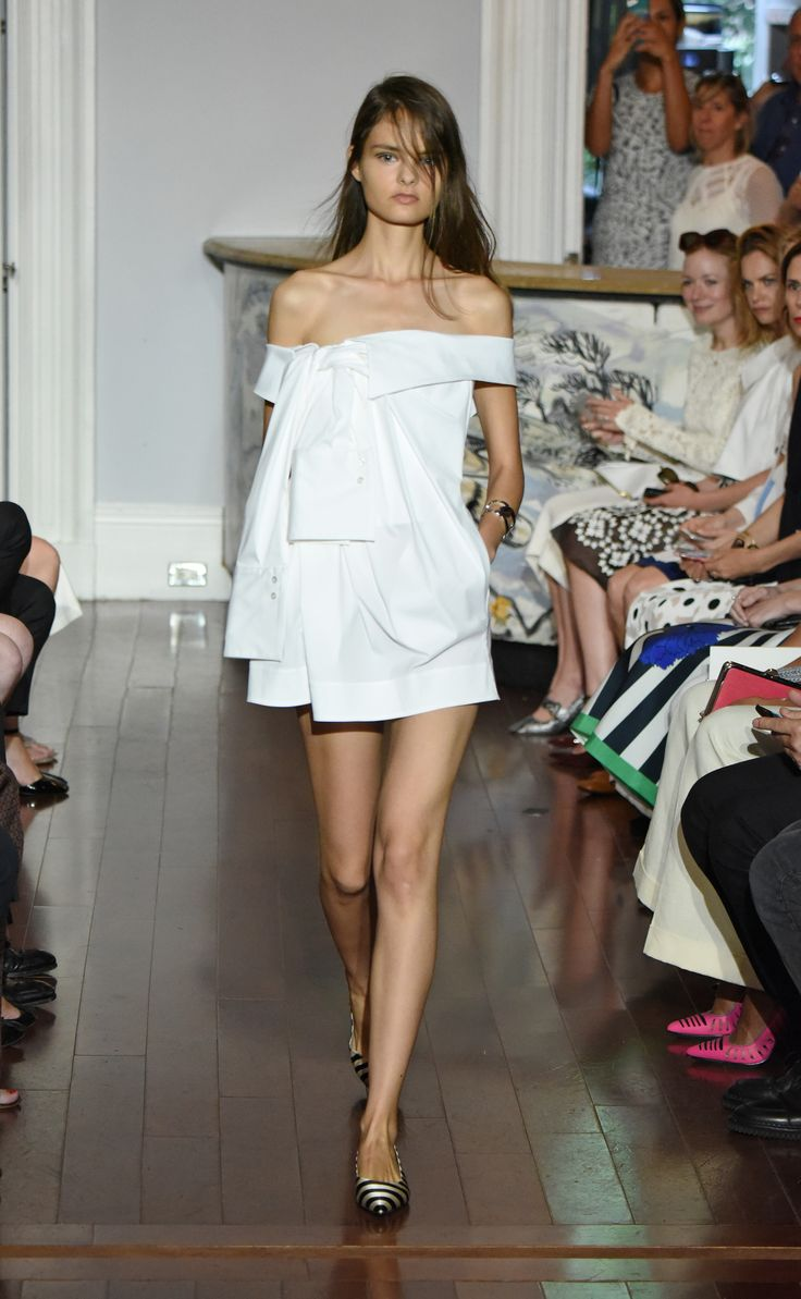 need to learn more about Monse - very good start for Spring 2016 Ready-to-Wear Fashion Show