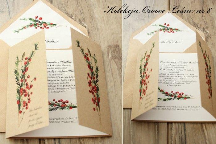 Owoce leśne - Amelia wedding