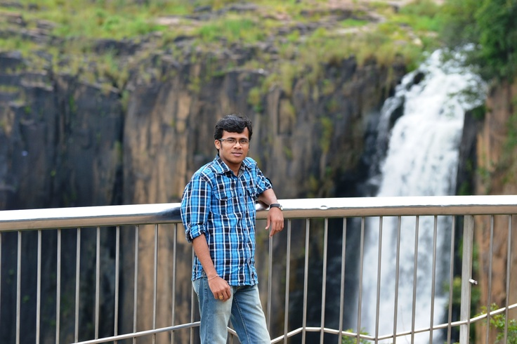 Me at Howick Waterfall