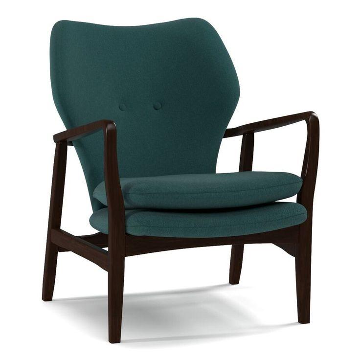 Handy Living Charlie Wood Arm Chair
