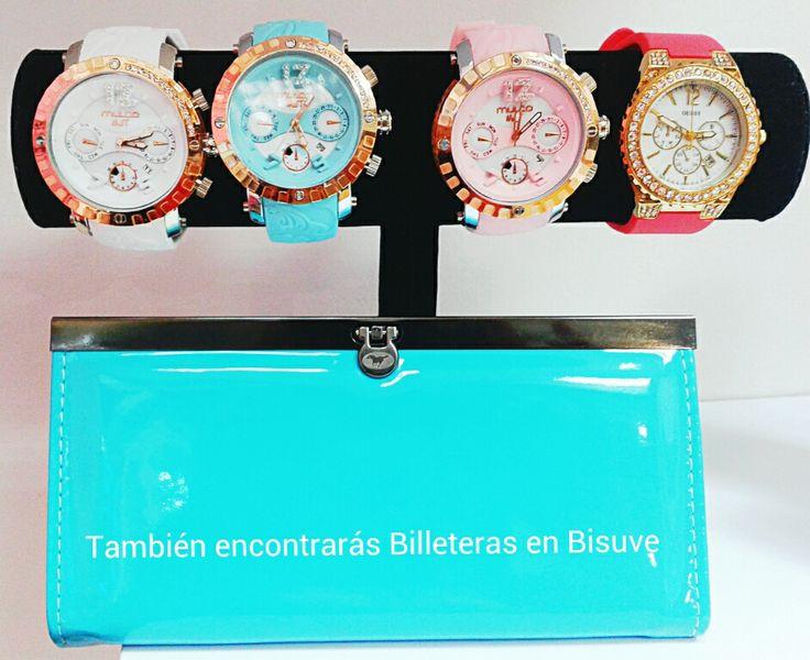 Relojes y Billeteras ,,, !!!