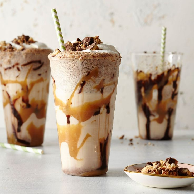 Your favorite peanut butter and chocolate Girl Scout cookie in yummy milkshake form. We recommend buying high quality ice cream and hot...