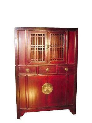 Antique Chinese Kitchen Cabinet 9866 Circa 1800 1849