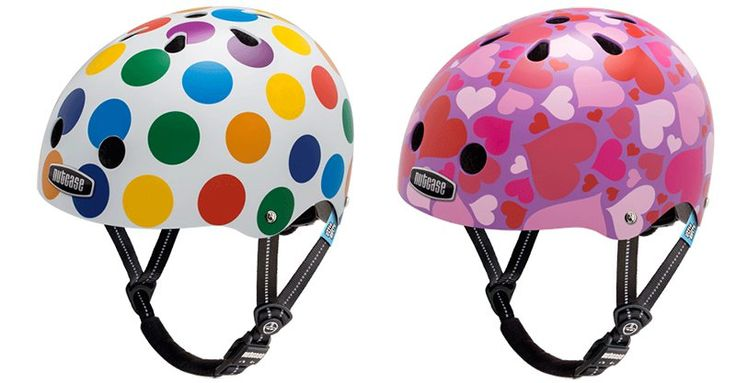 Strap up your little one's noggin in a colourful Nutcase helmet #Accessories, #Bikes, #Nutcase, #Preschooler, #RideOnToys, #Safety, #Toddlers