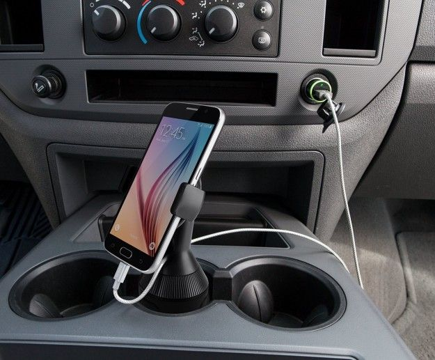 This phone mount that fits into any cup holder. | 32 Gifts For Your Friend Who's Always On Their Phone