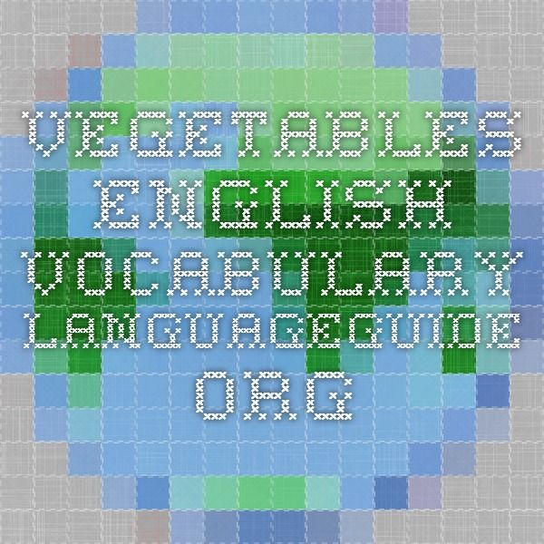 Vegetables IWB activity.