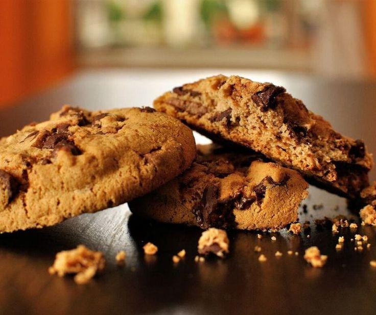 Cookies βουτύρου με σοκολάτα