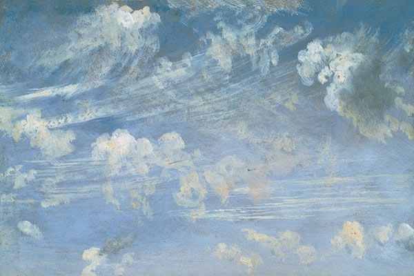 constable, study of cirrus clouds