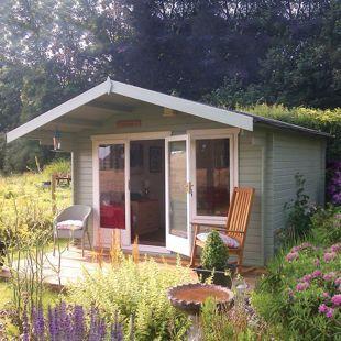 Shire Gisburn Log Cabin 12x8 | Wickes.co.uk