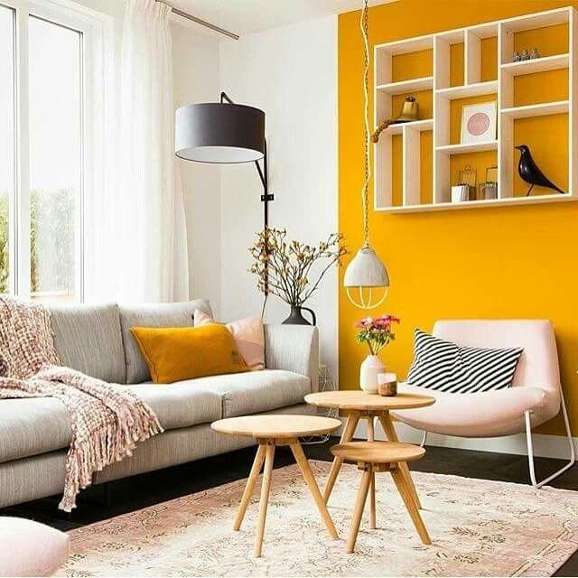 Wandfarbe Gelb: Yellow Bilder Auf Pinterest