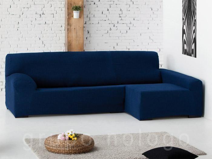 Funda sofá chaise longue ajustable Eliot, otro de nuestros nuevos modelos de fundas de sofá para chaise longue que se ajustan perfectamente protegiendo al máximo el sofá del posible deterioro por el paso del tiempo.