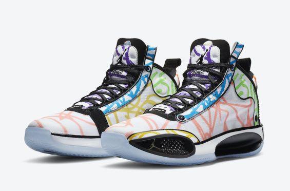 A Coloring Book Inspires This Zion Williamson X Air Jordan 34 Pe Dr Wong Emporium Of Tings Web Magazine Air Jordans Sneakers Jordans