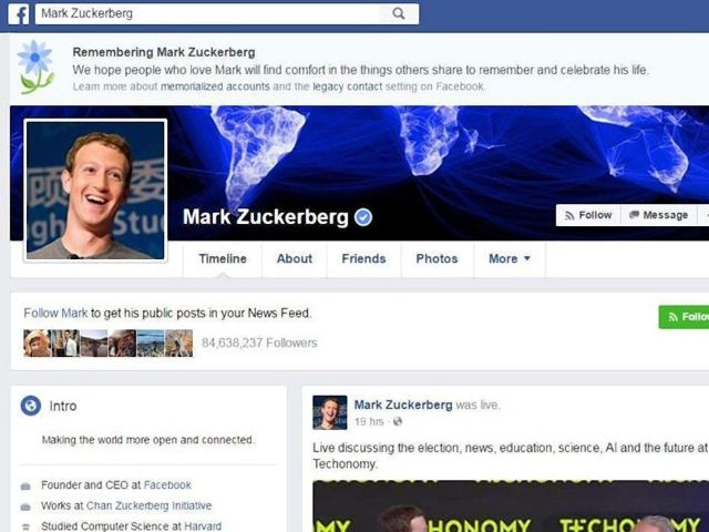"A ""terrible error"" has been blamed for the accidental virtual killing of a number of Facebook users, including none other than Mark Zuckerberg. Thousands of users of the social network …"