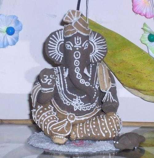 Create Your Own Clay Ganesh Statue for Ganesh Chathuri