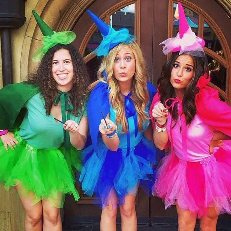 23 disney halloween costumes that will make you feel magical - 3 Girl Costumes Halloween