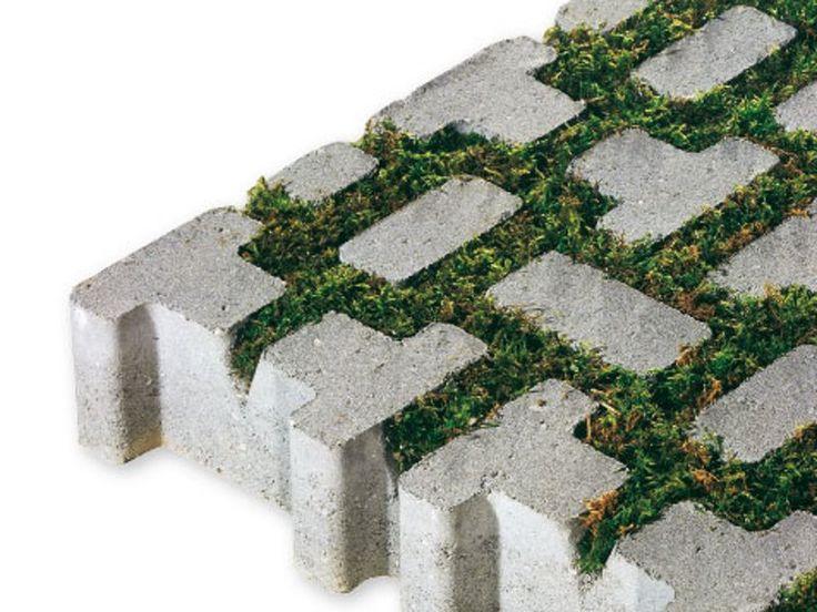 Rasengitterstein aus Beton LAGOS by CEDA