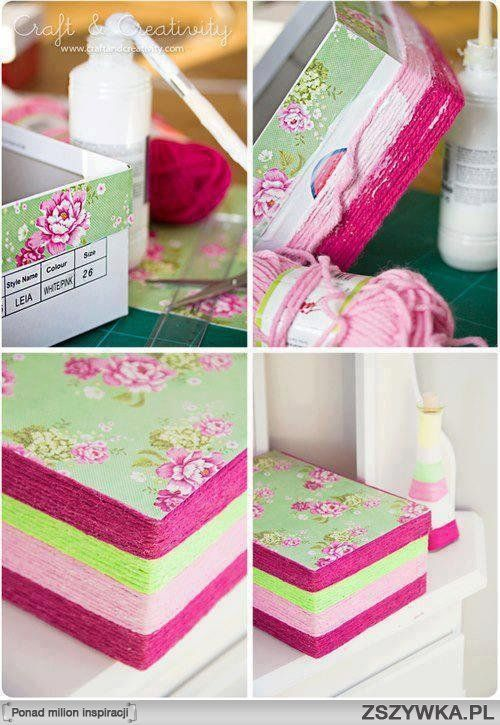 DIY: Ideas how to use the old shoes boxes | For Women