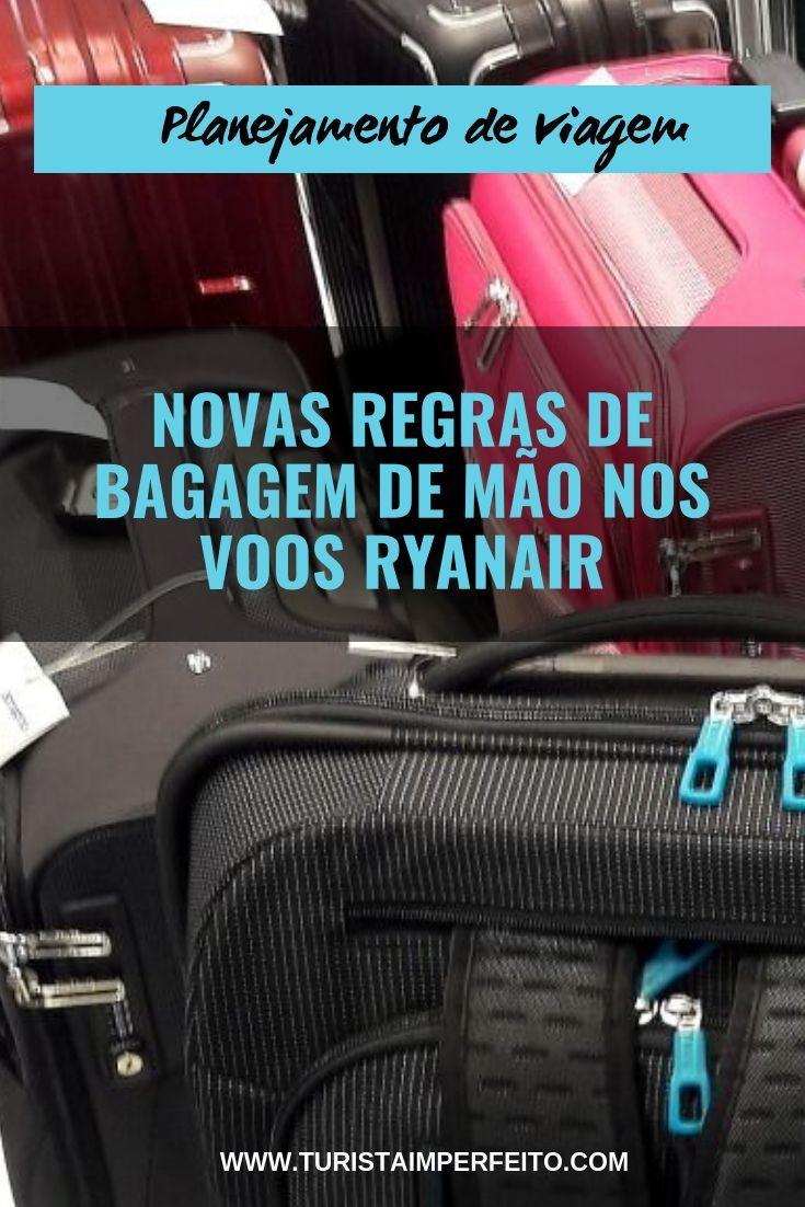 af07df89f Tudo sobre as novas regras para  bagagem de mão nos voos da companhia low  cost