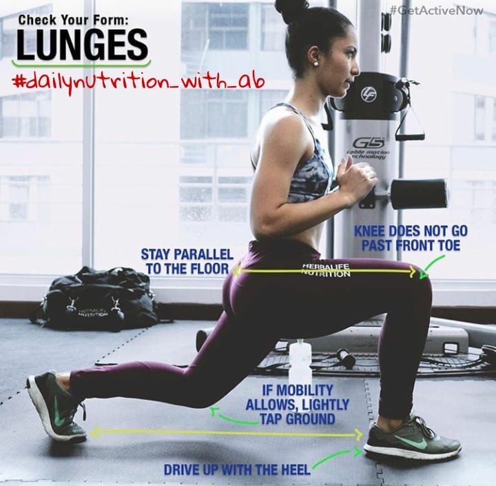 A Lunge Is A Single Leg Body Weight Exercise That Works Your Hips Glutes Quads Hamstrings Core And The Hard To Reach Mus Workout Bodyweight Workout Lunges