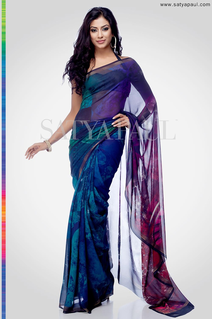 Having re-invented the traditional sari as a modern classic, the Satya Paul collection www.satyapaul.com