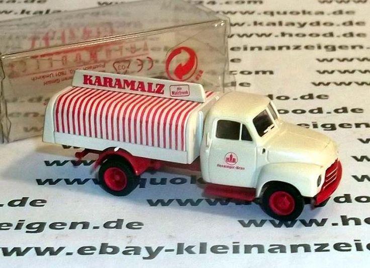 """Brekina 3518 H0 Modell """"Opel Blitz"""" Getränkewagen originalverpackt"""