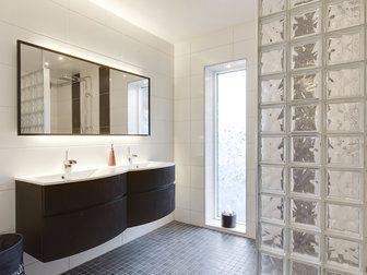snyggt badrumsfönster