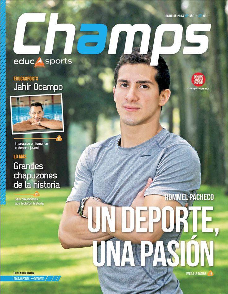 La edición de Octubre 2014 incluyó reportajes exclusivos con las Estrellas Rommel Pacheco y nuestro embajador Jahir Ocampo, representantes de nuestro gran país en las proximas olimpiadas #Rio2016 #SomosChamps #GoldenChamps