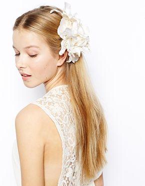 Agrandir Erin Elizabeth For Johnny Loves Rosie - Barrette motif bouquet de fleurs