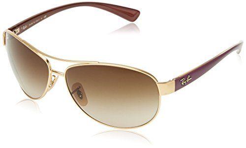 Ray-ban Unisex - Adults Mod. 3386  Sunglasses, matte gold (matte gold), size 63…