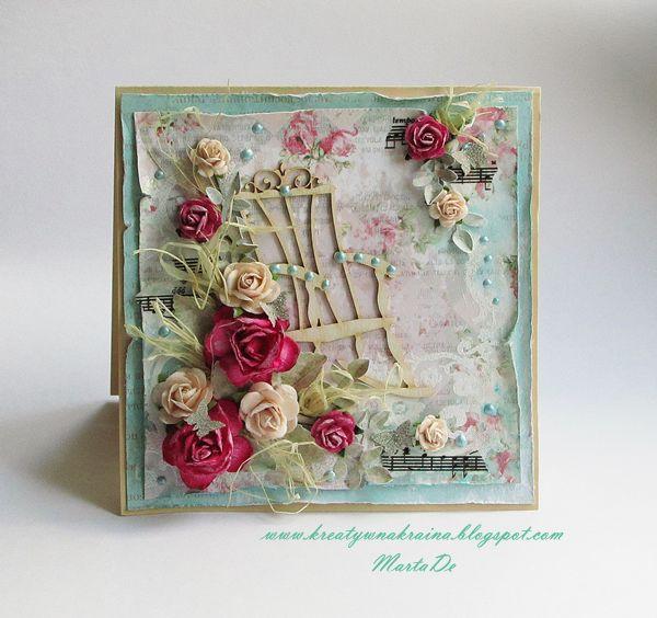 Shabby, cottage style card for someone special