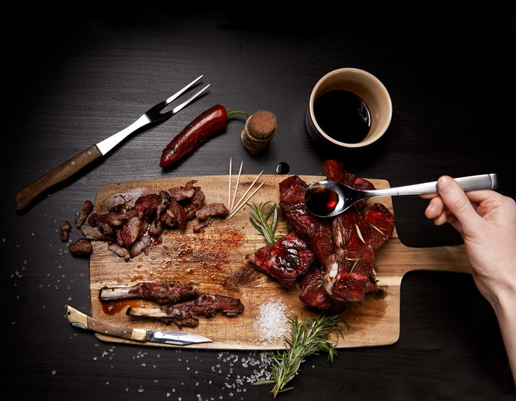 Ribs for McGees, Food Photography from White Cloud Photographic.