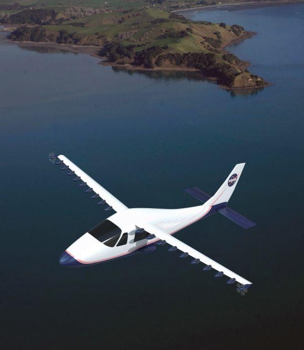 NASA が開発する次世代のプロペラ機プロジェクト「LEAPTech」