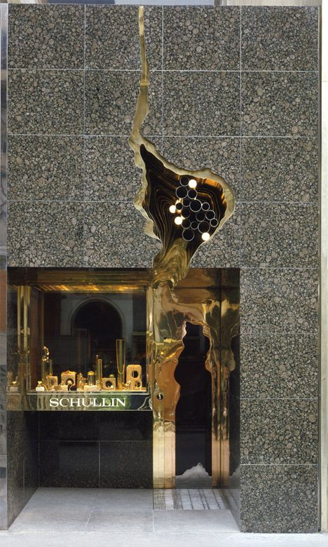 Hans Hollein Jewellery Store Schullin I. Photograph by Jerzy Survillo