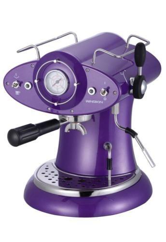 Italian-Designed-Coffee-Machine-Espresso-amp-Cappuccino-Solid-METAL-Body-RRP-899