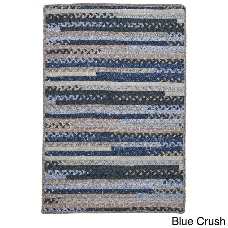 Colonial Mills Perfect Stitch Multicolor Braided -blend Rug