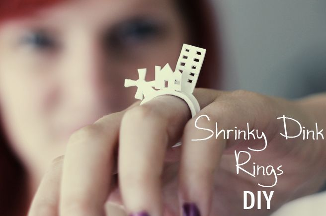 Lana Red Studio: Shrinky Dink Rings