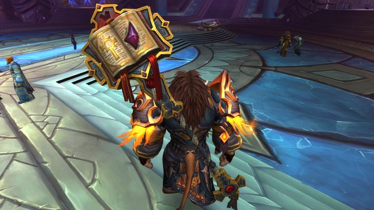 Cataclysm shoulders having a higher resolution texture than most artifacts leaves me... perplexed #worldofwarcraft #blizzard #Hearthstone #wow #Warcraft #BlizzardCS #gaming