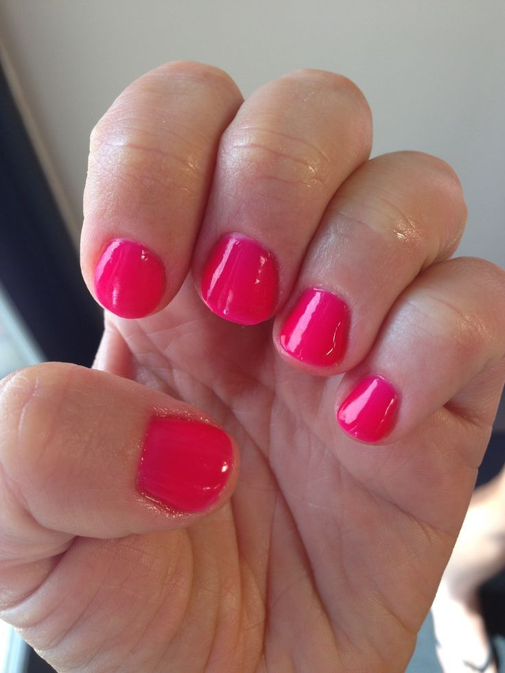 Pink Shellac Nails - Google Search