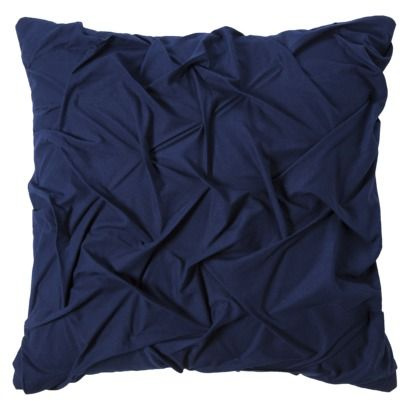 Room Essentials® Textured Decorative Pillow - Navy