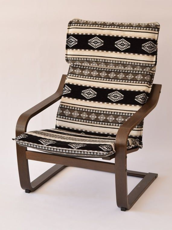 Poang Slipcover F16 Ikea Poang Chair Armchair Furniture Cushion