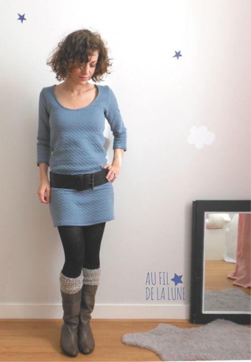 robe Plantain * Au fil de la Lune * blog couture