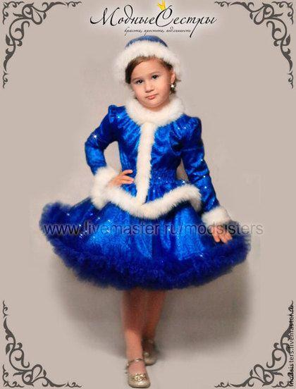 Купить или заказать Костюм 'Снегурочка' Арт.172 в интернет-магазине на Ярмарке Мастеров. В комплекте: шапочка на голову, платье. Возможные цвета: голубой, белый, красный, синий, розовый, сиреневый, зеленый, черный. Стоимость платья на рост: 62-80 см - 2500 руб., 86-92 см - 3100 руб., 98-104 см - 3600 руб., 110-116 см - 4100 руб., 122-128 см - 4600 руб., 134-146 см - 5100 руб., 152-156 см - 5600 руб. ТАБЛИЦА для определения размера cs5.livemaster.